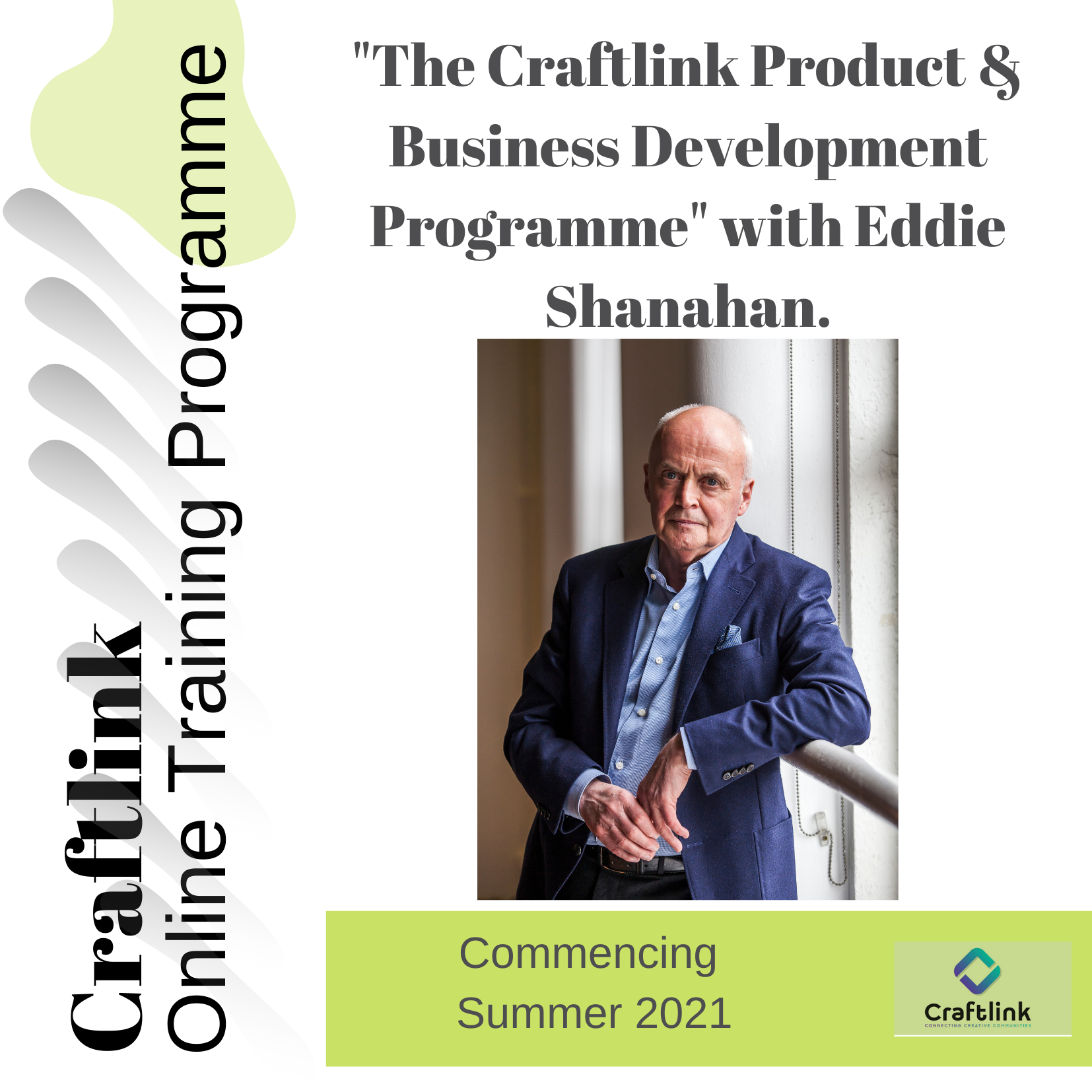 """""""The Craftlink Product & Business Development Programme""""  with Eddie Shanahan."""
