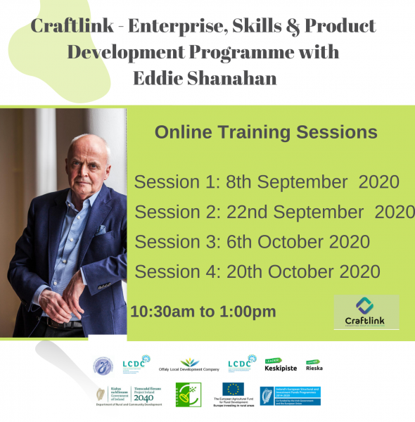 Enterprise, Skills & Product Development Programme with Eddie Shanahan